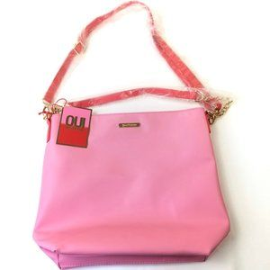 Juicy Couture Pink Crossbody Shoulder Bag Purse